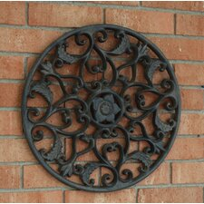 Outdoor Open Leaf Wall Decor