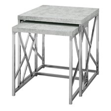 Dace 2 Piece Nesting Tables by Latitude Run