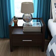 Gusman 1 Drawer Bedside Table
