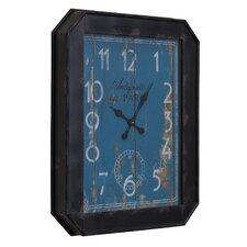 Industrial Iron Wall Clock