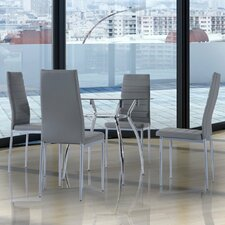 Sean Dining Set with 4 Chairs