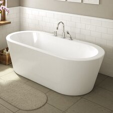 Una 71 x 34 Freestanding Bathtub by A&E Bath and Shower