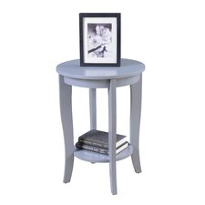 American Heritage Round End Table by Convenience Concepts