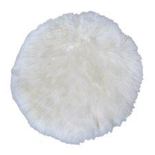 Hides & More Handwoven Sheepskin Ivory Rug