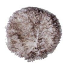 Hides & More Handwoven Sheepskin Wolftip Rug