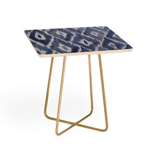 Natalie Baca Painterly Ikat End Table by East Urban Home