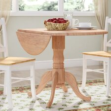 "Carrie Round 42"" Dual Drop Leaf Dining Table"