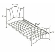 Sophia Single Bed