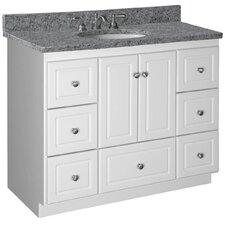 """Simplicity 43"""" Single Cabinet Bathroom Vanity Base"""