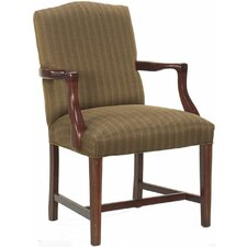 Tom Hardwood Upholstered Dining Chair