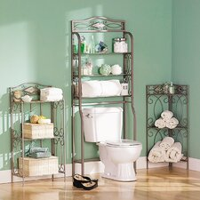 Briscoe 3-Tier 19.25 W Bathroom Shelf by Red Barrel Studio
