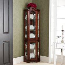 Glacier Corner Curio Cabinet