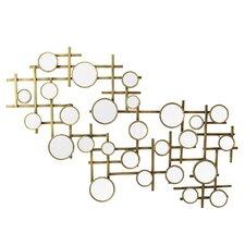Elegant Mirror Cluster Wall Décor