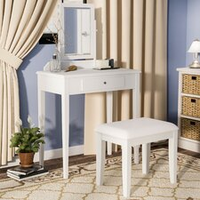 Thebes Vanity Set with Mirror