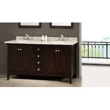 Amsterdam 60 Double Bathroom Vanity Set by Ove Decors