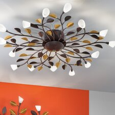 Campania 15 Light Semi-Flush Ceiling Light