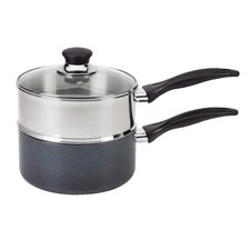 Specialty 3 qt. Stainless Steel Double Boiler with Lid