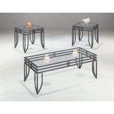 Lake Oswego 3 Piece Coffee Table Set