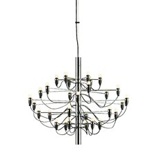 30-Light Candle-Style Chandelier
