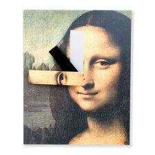 Mona Lisa Wall Clock