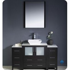 Torino 54 Single Modern Bathroom Vanity Set with Mirror by Fresca