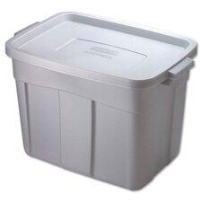 18 Gallon Roughneck Storage Box in Steel Gray