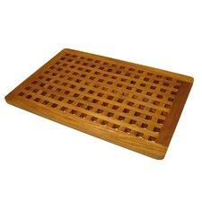grate teak bath mat - Teak Bath Mat