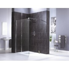 Shine Shower Panel in Polished Silver