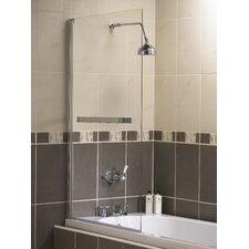 137.5cm x 75cm Hinged Bath Screen