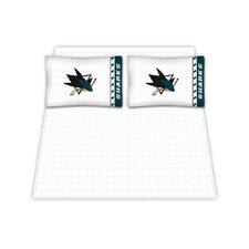 NHL San Jose Sharks Sheet Set