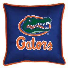 NCAA Florida Gators Sidelines Throw Pillow