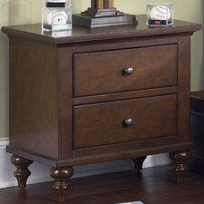 Abbott Ridge 2 Drawer Nightstand by Liberty Furniture