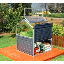 Palram 3.8 Ft. W x 3.8 Ft. D Mini Greenhouse