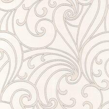 "Ulterior  33' x 20.5"" Scroll 3D Embossed Wallpaper Roll"