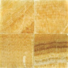 6'' x 6'' Onyx Field Tile in Gold