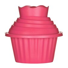 3-tlg. Cupcake Backform-Set Giant Antihaft