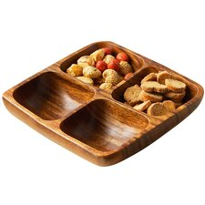 4 Section Divided Serving Dish