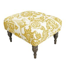Canary Upholstered Ottoman by Skyline Furniture