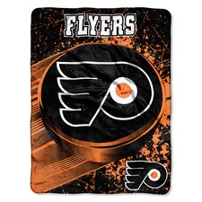 NHL Philadelphia Flyers Micro Raschel Throw