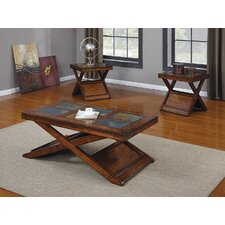 Benicia 3 Piece Coffee Table Set by ACME Furniture