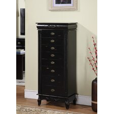 Moser Jewelry Armoire with Mirror
