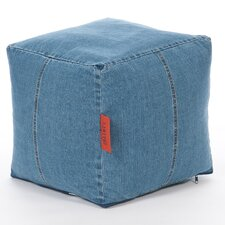 Denim Cube Chair
