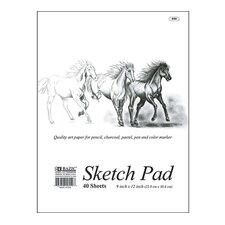 Premium Sketch Pad (Set of 48)