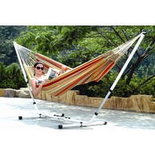 Doubleb Brazilian Cotton Hammock with Stand