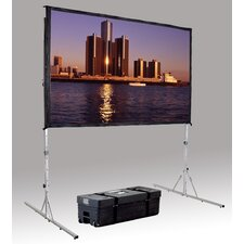 "Fast Fold Deluxe 54"" H x 54"" W Portable Projection Screen"