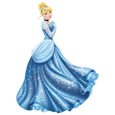 Popular Characters Disney Princess Cinderella Glamour Giant Wall Decal