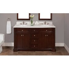 Chester 60 Double Bathroom Vanity Set by Lanza