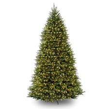 10' Dunhill Fir Artificial Christmas Tree with 1200 Clear Lights