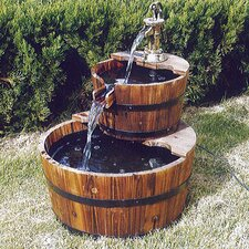 Wooden Tiered Fountain