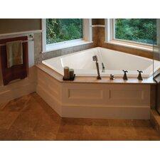 Designer Courtney 60 x 48 Soaking Bathtub by Hydro Systems